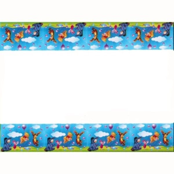 Winnie the Pooh Party Decorations. Table cover