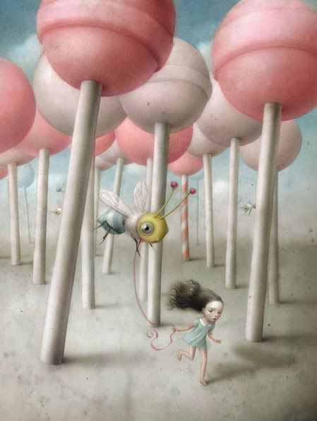 #Nicoletta_Ceccoli #lowbrow #art