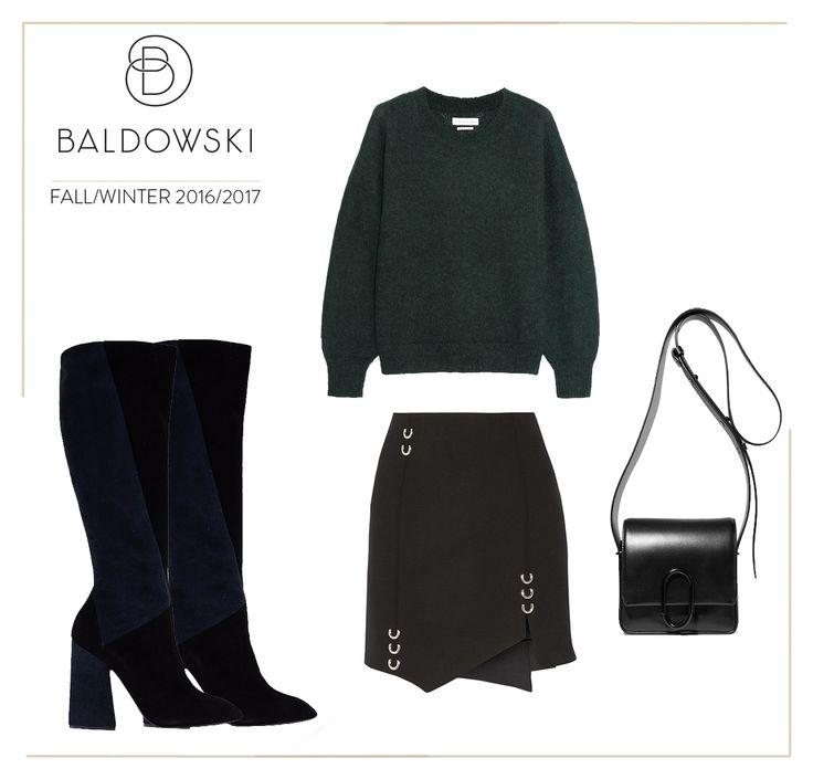 Get inspired with Baldowski #fashion #baldowski #fallwinter #fall #inspiration #knitwear #boots #geometric #skirt #classybag #classy #bag   www.baldowski.pl/kozaki/baldowski/d017033986003/p-1272.html