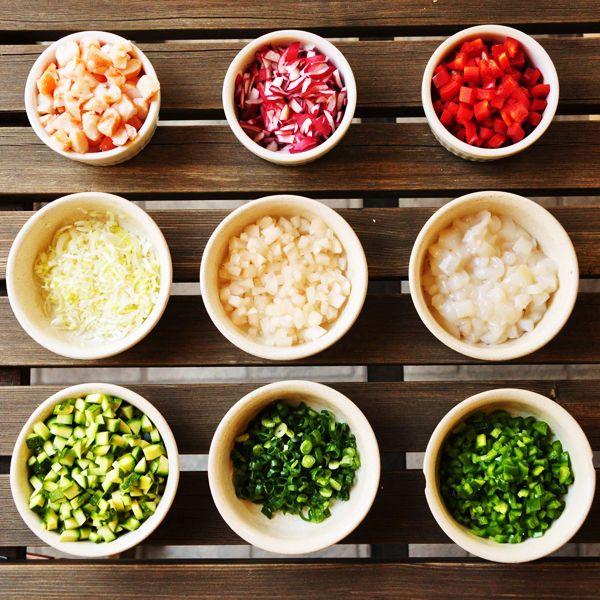 Macrobiotica e taglio delle verdure http://www.cucinasemplicemente.it/macrobiotica-taglio-verdure/