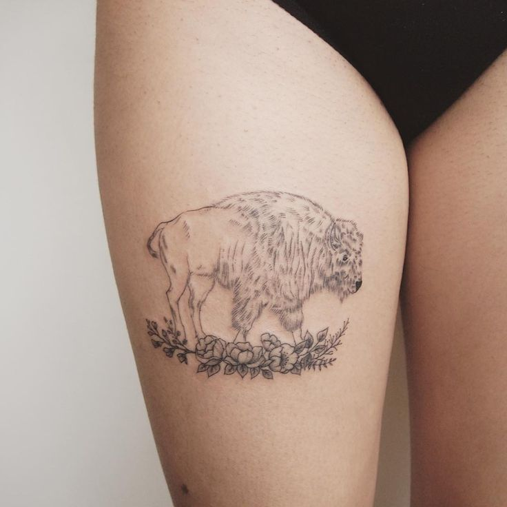 25 best ideas about buffalo tattoo on pinterest bison for Tattoos of buffaloes