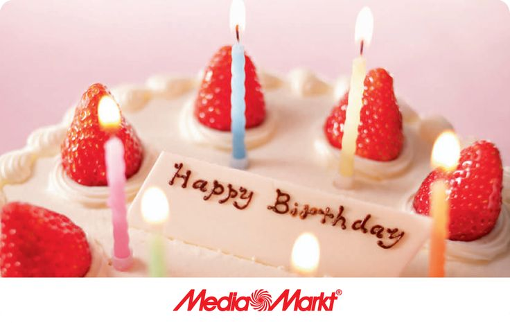 Kívánj szerettednek Boldog születésnapot Media Markt ajándékkártyával! - Wish your loved ones Happy Birthday with gift card from Media Markt.