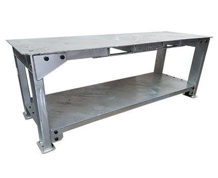 WERKS Mega Bench 2500kg. Buy Workshop & Factory Online - Materials Handling - Backsafe Australia: https://www.backsafeaustralia.com.au/products/workshop-factory