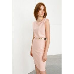 Powder pink dress #officestyle #rosequartz