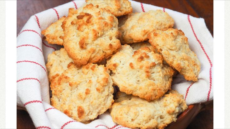 Seriously The Easiest and Most delicious Biscuits I EVER made  About This Recipe YIELD: Makes about 20 small biscuits or about 8 large biscuits ACTIVE TIME: 15 minutes TOTAL TIME: 30 minutes SPECIAL EQUIPMENT: food processor (optional) THIS RECIPE APPEARS IN: The Serious Eats Guide to Biscuits How to Make Quick and Easy Drop Biscuits  Quick and Easy Drop Biscuits Drop biscuits are incredibly easy and quick to whip up. [Photograph: Daniel Gritzer]  Fannie Farmer of the famed Boston School of…