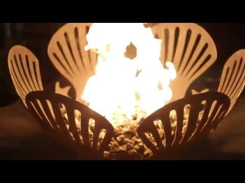 Free Shipping! Each Barefoot Beach Fire Pit Art natural gas or propane fire pit is hand crafted and made to last a lifetime.