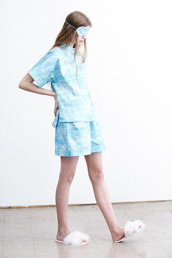 Lounge Shirt - Rejuvenation print Lounge Shorts - Rejuvenation print