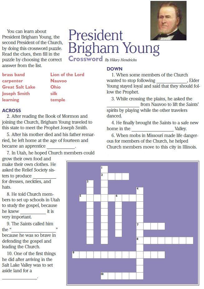 how to write a religious doctrine crossword