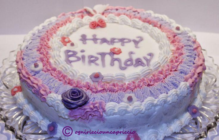 birthday cake _ torta di compleanno