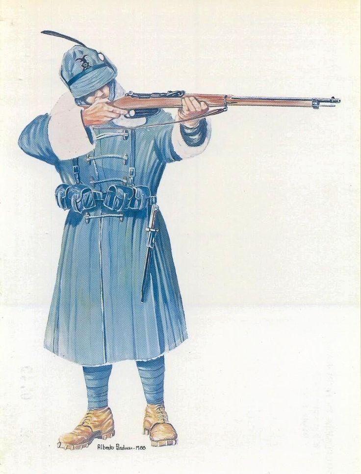 Alpino italiano, Prima guerra mondiale.