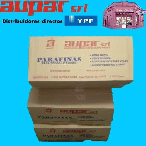 parafina ypf para velas x kg $55 y caja. asesoramiento e insumos