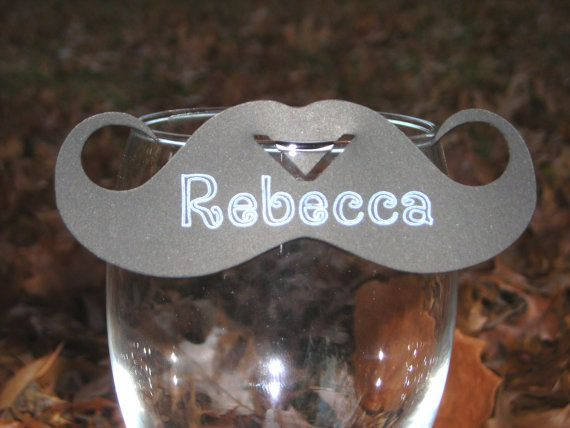 moustache name tags, don't mind if I do.