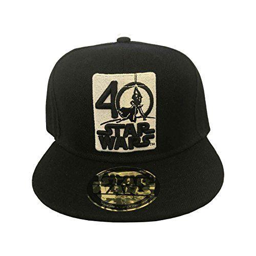 Star Wars Baseball Cap 40 Years Logo A Hope Official Black Snapback //Price: $28.43 & FREE Shipping //     #starwarsmeme