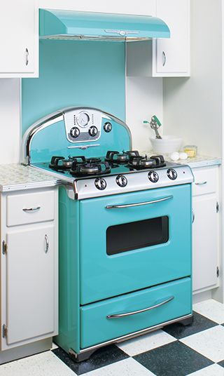 At Elmira Stove Works You Can Choose Your Range Top Oven Range Color And Vintage Applianceskitchen