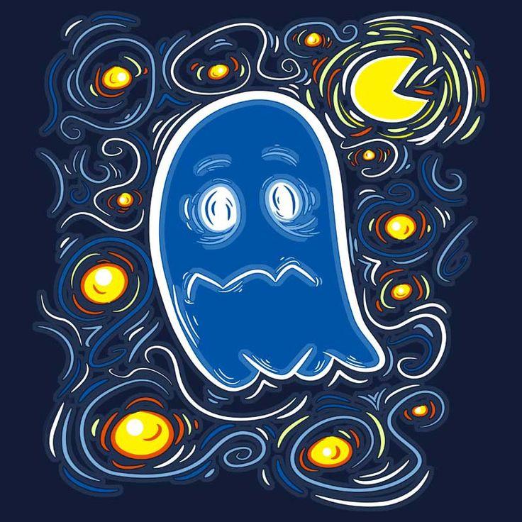 Vinky van Ghost T-shirt