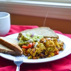 Mexican tofu scramble is delicious, healthy, and will beat scrambled ...