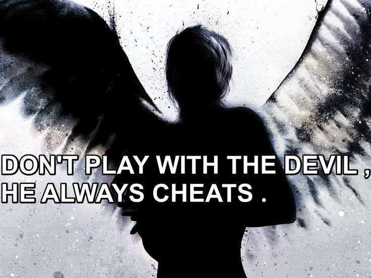 Devil And Angel Quotes: 165 Best Images About Quotes Angels And Darkness On