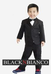 Ring Bearer Outfit Tuxedo in black for kids-- cheap tuxedos and suits for boys! Awesome!!!!