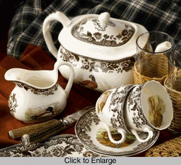 Have loved Spode Woodland dinnerware for years and would love to have a set!