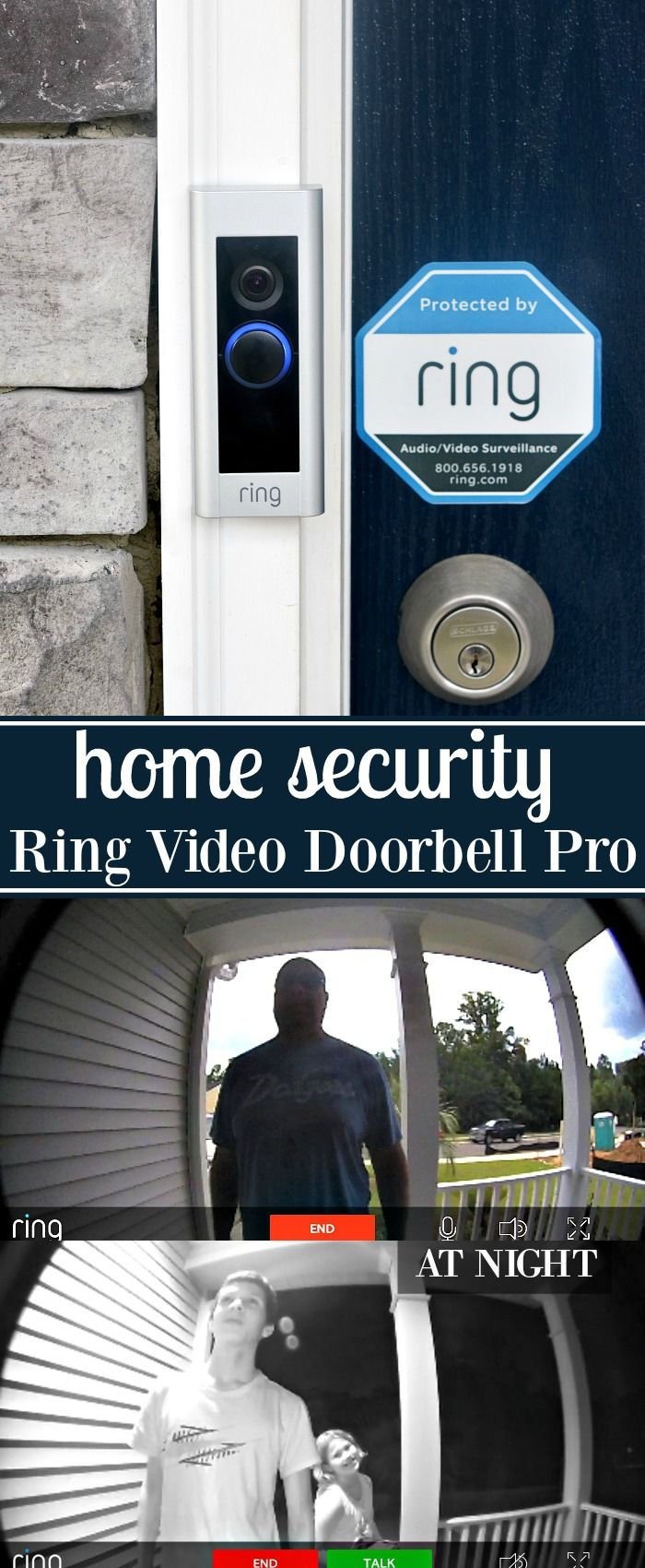 Home Security with the Ring Video Doorbell Pro AlwaysHome