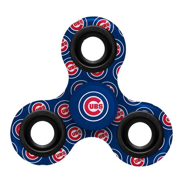 Chicago Cubs 3-Way Printed Diztracto Spinnerz  #ChicagoCubs #Cubs #FlyTheW #MLB #ThatsCub