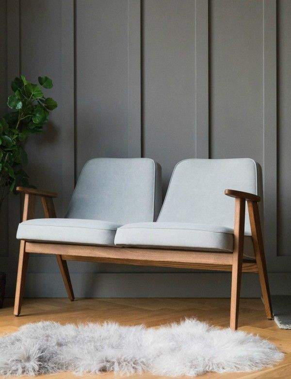 Jozef Chierowski 366 Two Seater Denim at Rose & Grey