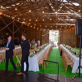 Take one old barn, an inspiring couple with huge energy and vision , and turn it into a brilliant wedding venue. Congratulations to Brigid and Macca on an incredible feat and a brilliant day!