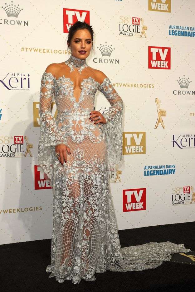 Olympia Valance | Here's What Everyone Wore To The 2016 Logies