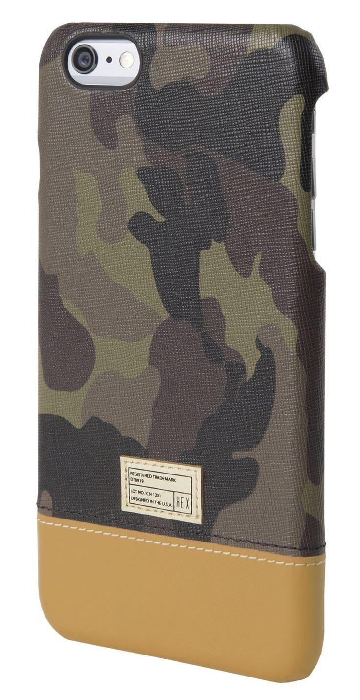 Focus Case for iPhone 6 Plus Camo Leather - iPhone 6 Plus - Cases - Shop | HEX