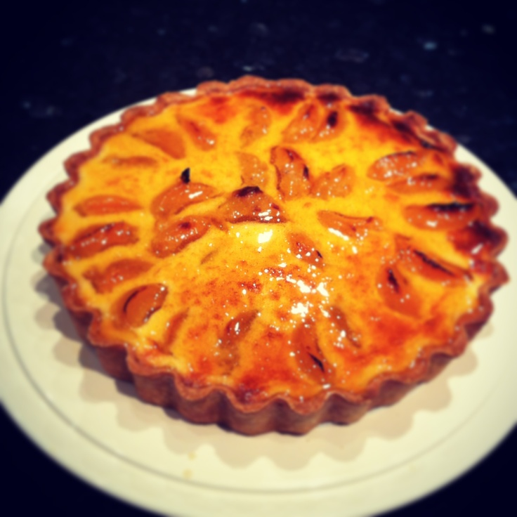 Apricot tart - my favourite recipe