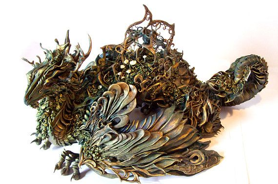 CUSTOM ORDER- Personal Creature This work is so interesting and creative. All one of a kind custom made sculptures.