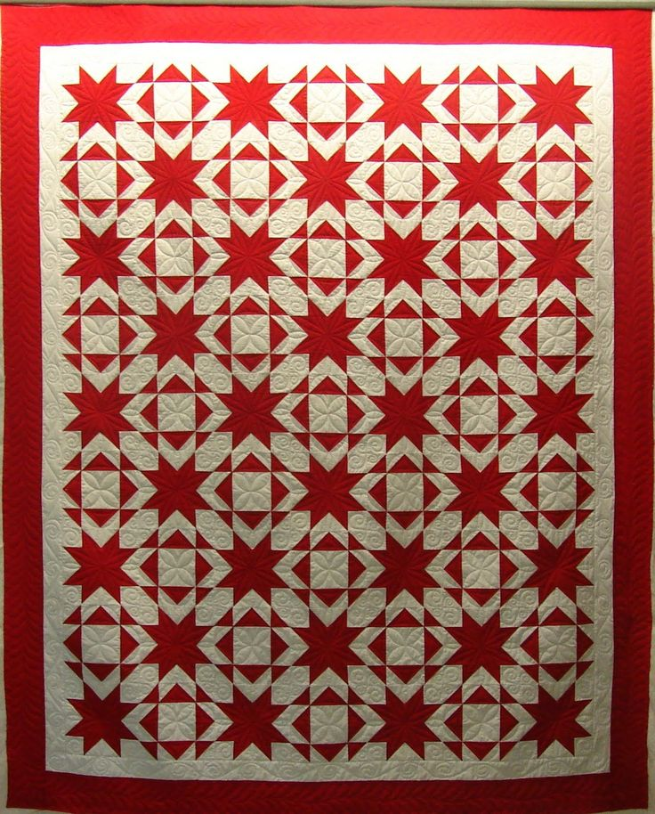 313 best Red and white quilts images on Pinterest | White ... : red and white quilts - Adamdwight.com