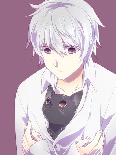 Anime Cat Girl And Boy