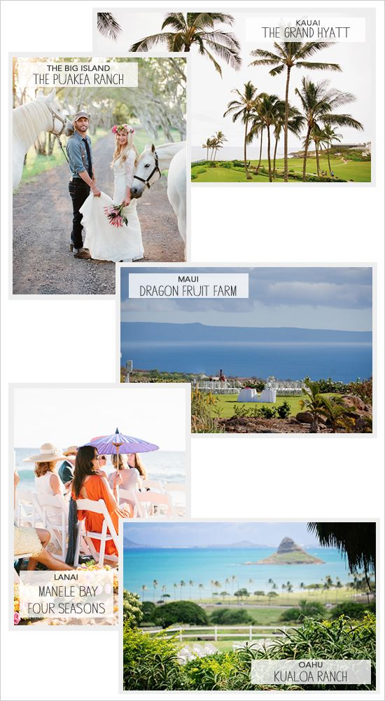 Hawaiian wedding ideas wedding venues hawaii for Destination wedding location ideas