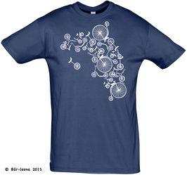 Männer Geschenke - Fahrrad T-Shirt · navy