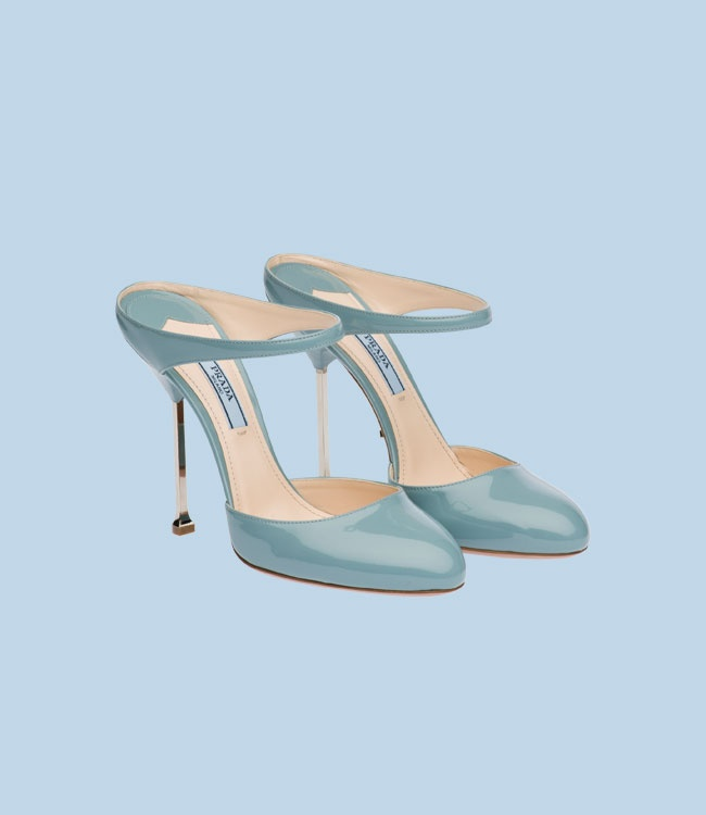 Prada: Baby Blue, Mint Heels, Prada Pump, Blue Pump, Prada Shoes, Carolina Blue, Mule Shoes, Lakes Blue, Something Blue