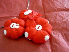 DIY - collier de fleurs en tissu • Hellocoton.fr