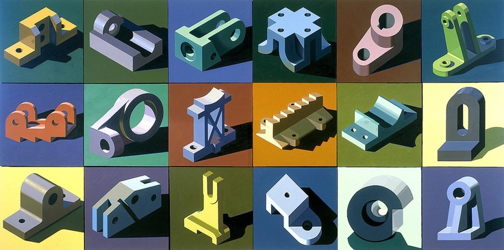 Robert Cottingham 18 components