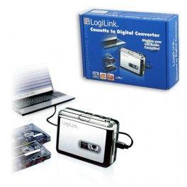 Stai per buttare le vecchie cassette . NOoooooo  passale in formato Mp3 con il Riproduttore Convertitore di Cassette Musicassette a MP3.  NOi lo abbiamo utilizzato per trasferire tutte le cassette abbinate ai libri per bambini dei nostri figli . fantastico !