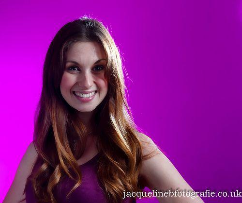 Model Sarah in Pink !