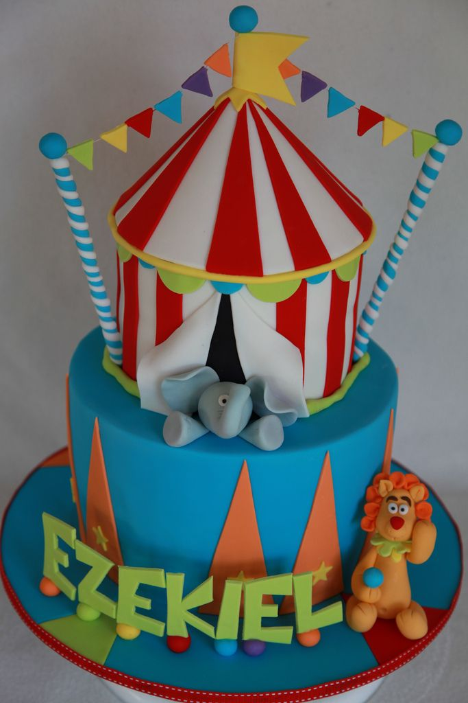 Ezekiel's circus cake | Flickr - Photo Sharing!