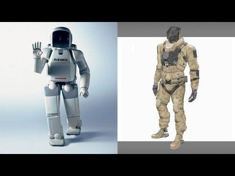 ▶ ASIMO vs PETMAN [Most Advanced Humanoid Robots] JAPAN vs USA - YouTube