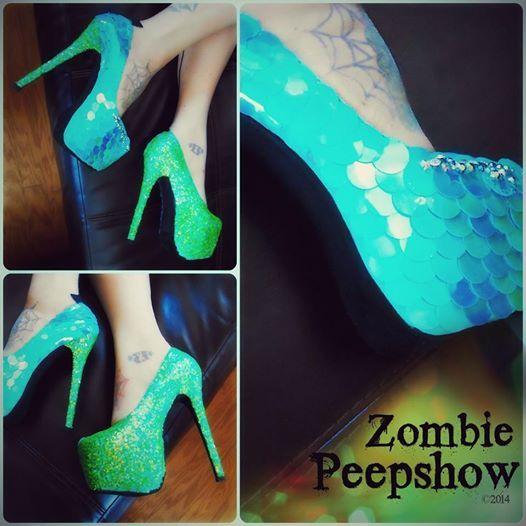 Zombie Shoes Heels
