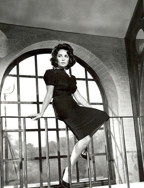 Elizabeth Taylor, 1959, publicity shot for Suddenly, Last Summer