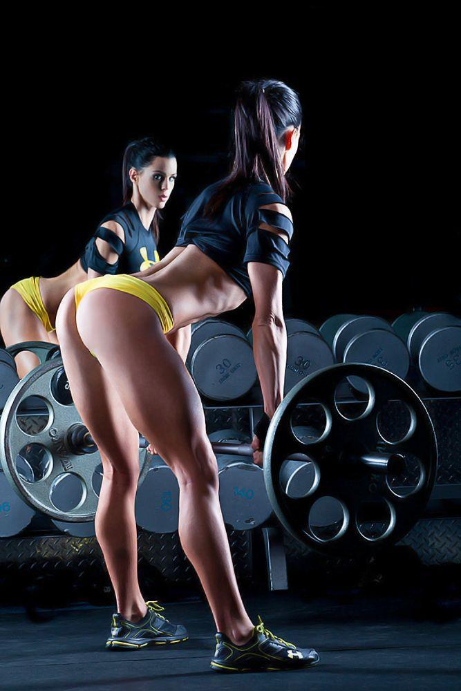 Musculation femme bodybuilding motivation fit for Gimnasio 7 de fitness badalona