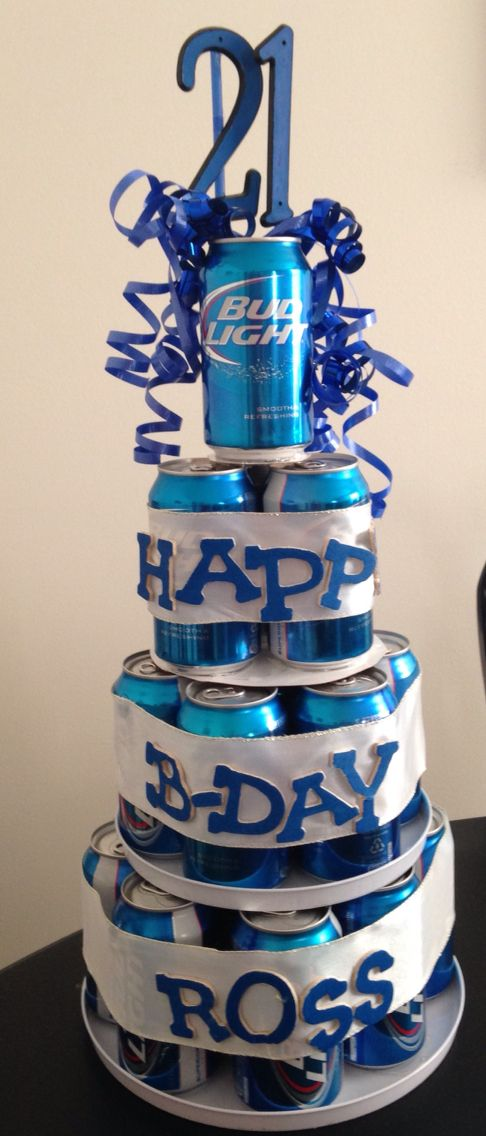21st birthday beer can cake | Random | Pinterest | Cakes ...