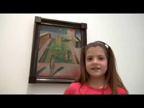 Mein Lieblingswerk in der Max Ernst Ausstellung (Thea), Foundation Beyeler