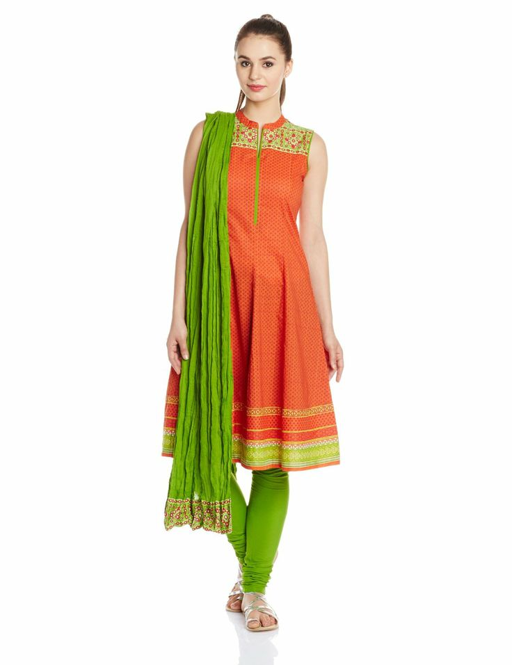 Buy Online Shopping Deals Offers In India Biba cotton A-Line ...