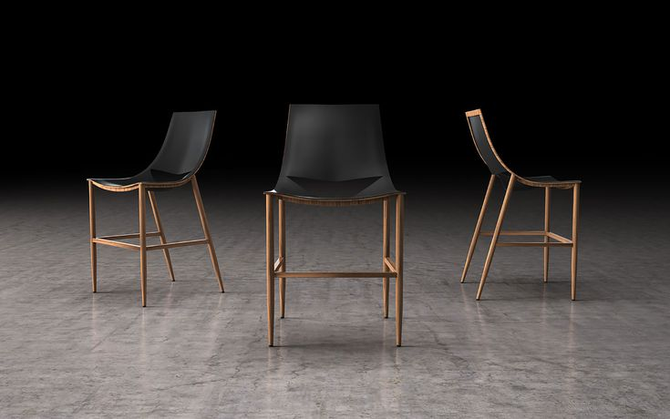 This award-winning Bar or Counter stool features a distinctive smooth grain reclaimed leather-wrapped seat with laser cut-out. Its expertly crafted carbon steel frame is available in a polished or painted finish. Also available in teak veneer frame. Winner of the 2015 IF Product Design Award. For more info please email us service@FurnitureToronto.com or Visit our showroom: 📍 700 Kipling ave, Toronto Ontario 🇨🇦️ ☎️ 416 503 009 #bar #bars #barstool #barstools