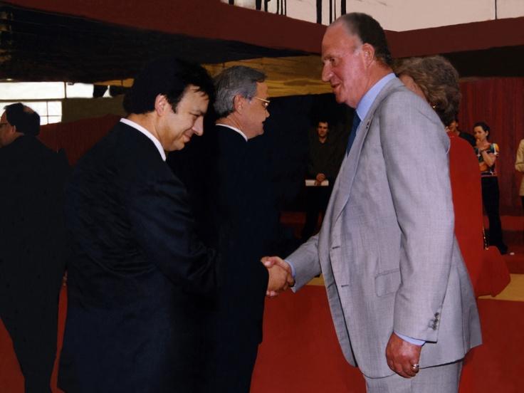 En un acto con el Rey de España
